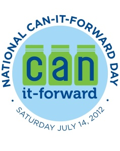 Can it Forward Sticker