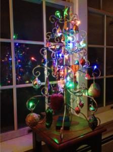 Christmas Tree and Reflection