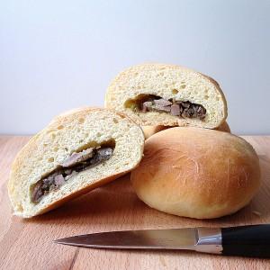 Beef and Onion Savory Buns